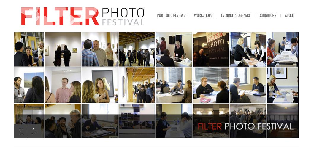 Filter-Festival website screenshot